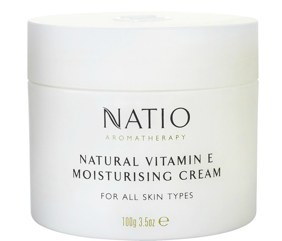 Natio Natural Vitamin E Moisturising Cream 100g