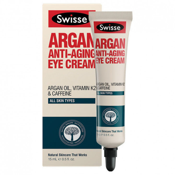 Swisse Argan Anti-Aging Eye Cream - 15mL