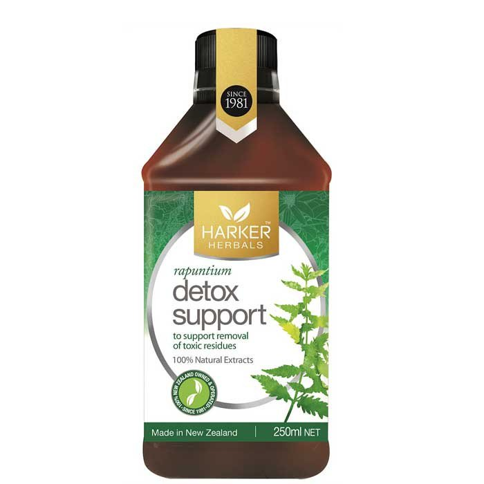 (BUY 2nd FREE) Harker Detox Support 250ml Expiry Date 8/21