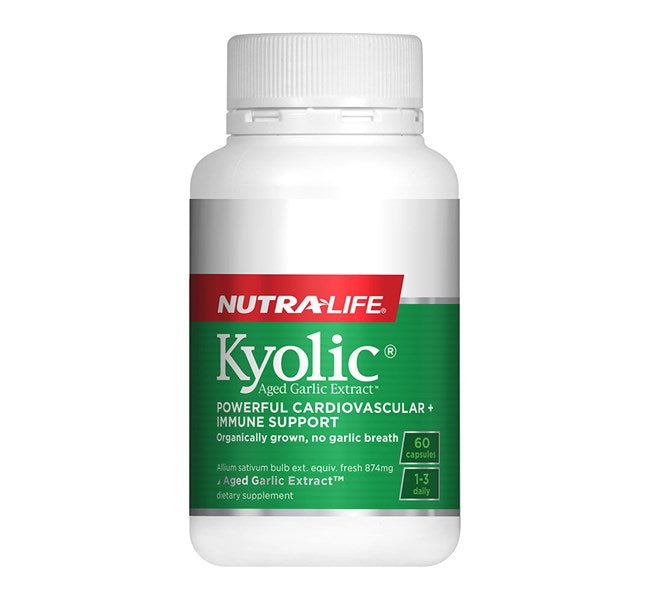 Nutralife-Kyolic Aged Garlic Extract High Potency Formula 60 Capsules