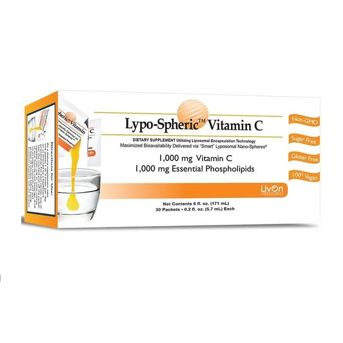 Lypo-Spheric Vitamin C 1000mg 30 Sachets