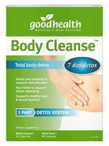 Good Health Total Body Cleanse Detox Kit 153s