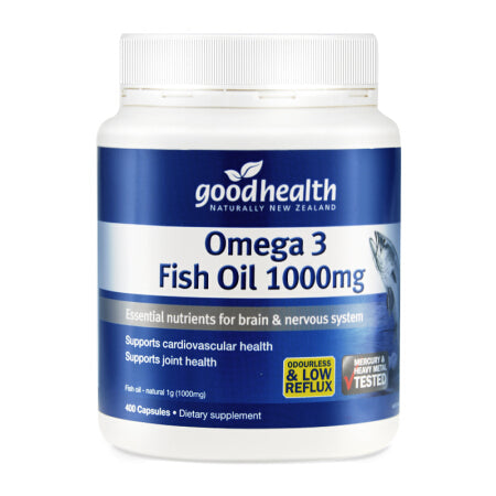 Omega 3 Fish Oil 1000mg (400caps)