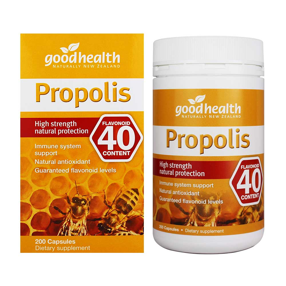 Good Health - Propolis 40 High Strength Natural Protection - 200 Capsules