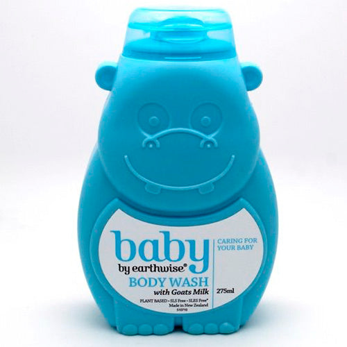 Earthwise Baby Bath Goats Milk Body Wash 275ml