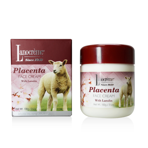 Lanocreme Placenta Gold Face Cream 100g
