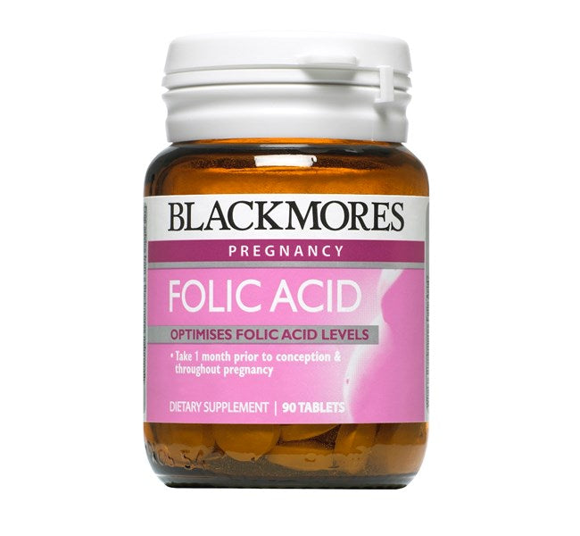 Balckmores Folic Acid 90 tablets