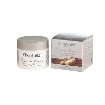 Chantelle Lanolin Cream with Grape Seed Oil & Vitamin E 100ml