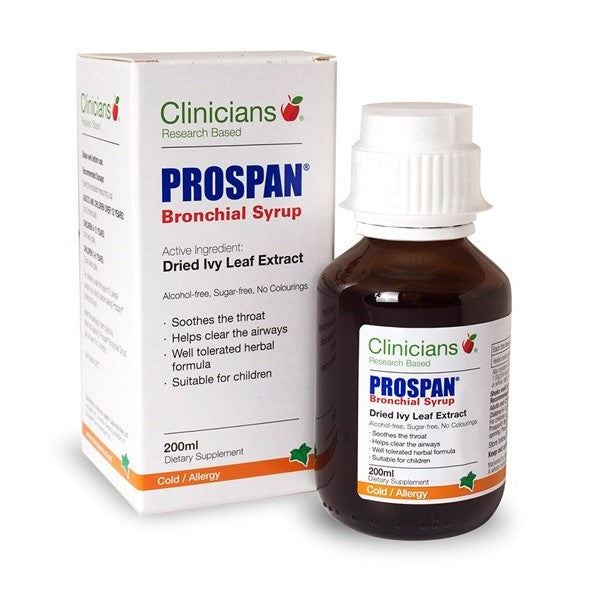 Clinicians Prospan Bronchial Syrup (200ml Bottle)