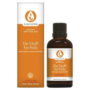 Kiwiherb De-Stuff For Kids - Ear Nose & Sinus Support 100ml
