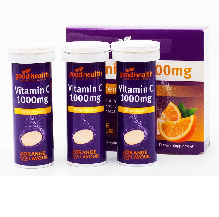 Good Health Vitamin C 1000mg effervescent 30 tabs
