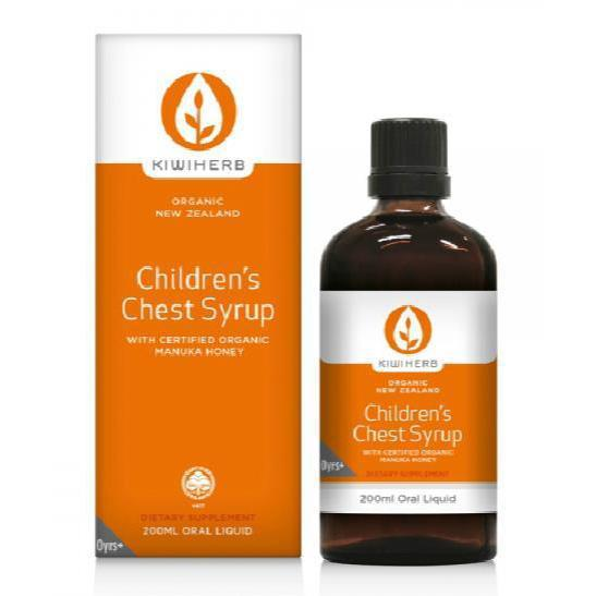 Kiwiherb Children's Chest Syrup 200ml