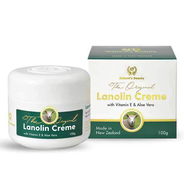 Nature's Beauty Lanolin Creme with Vitamin E & Aloe Vera 100g