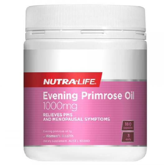 Nutra-Life Evening Primrose Oil 1000mg - 180 Capsules