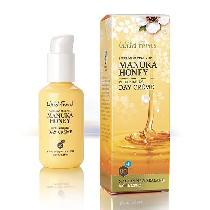 Parrs Wild Ferns Manuka Honey Replenishing Day Creme 100ml