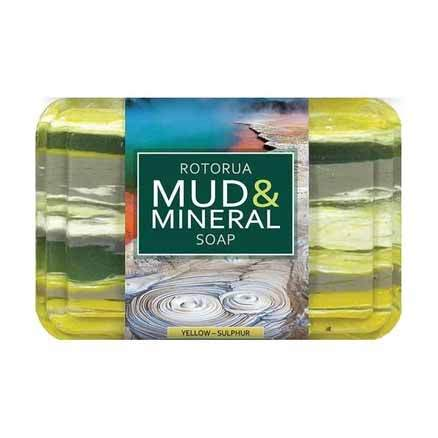 Parrs Wild Ferns Rotorua Mud and Mineral Soap 100g