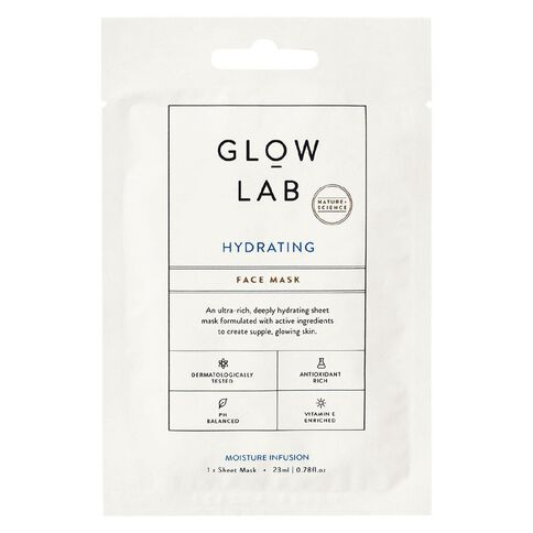 Glow Lab hydrating face mask 1p 23ml Expiry date:04/2021