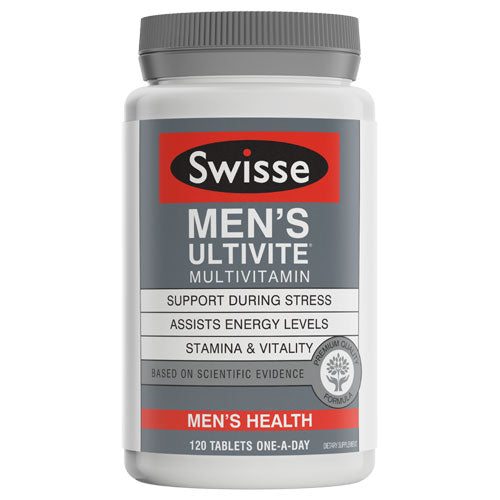 Swisse Mens Ultivate Tablets 120