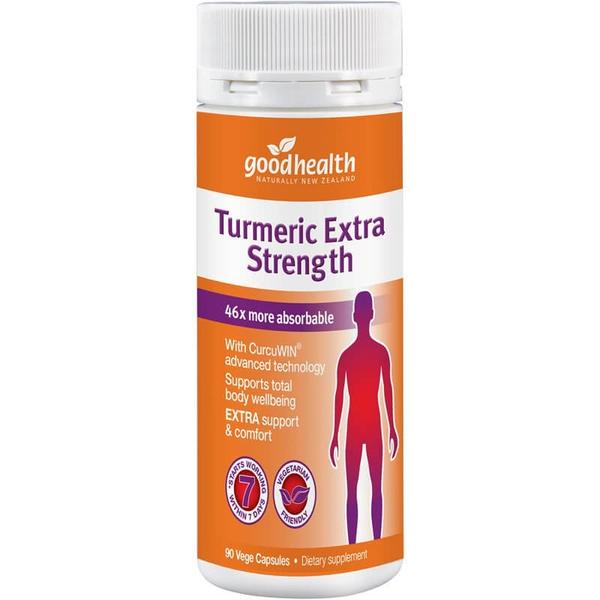 Good Health Turmeric Extra Strength 90 Capsules