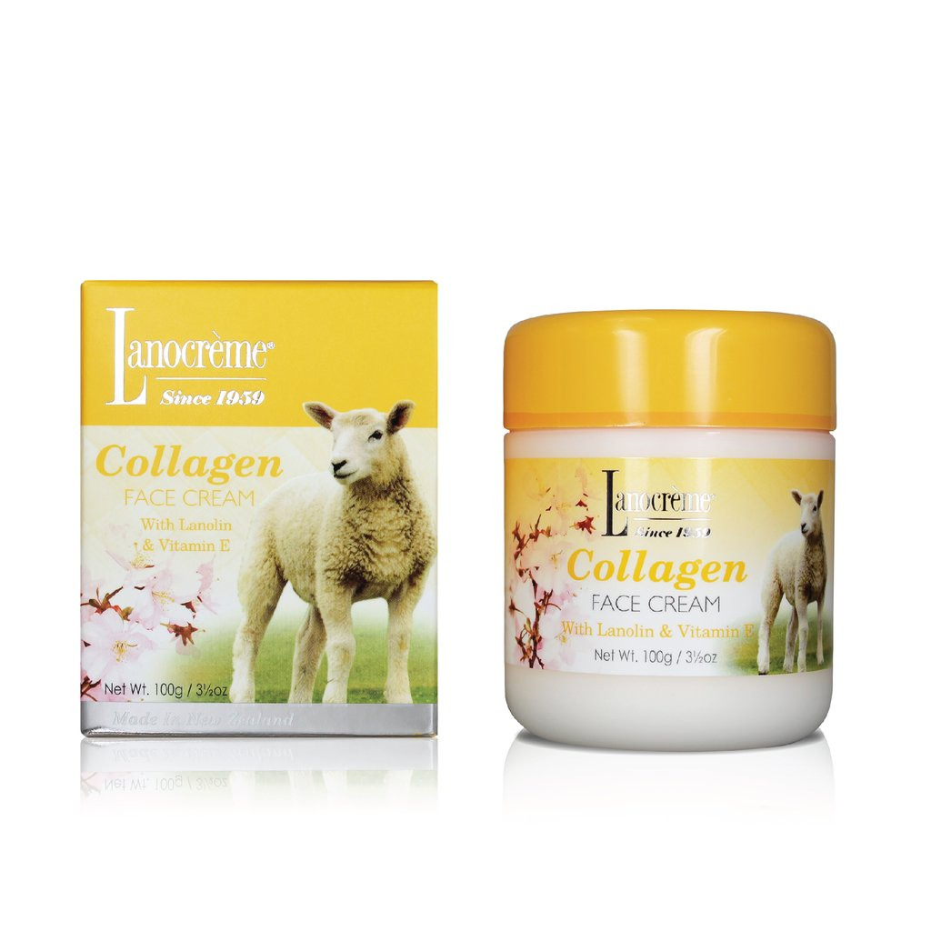 Lanocreme Collagen Face Cream 100g