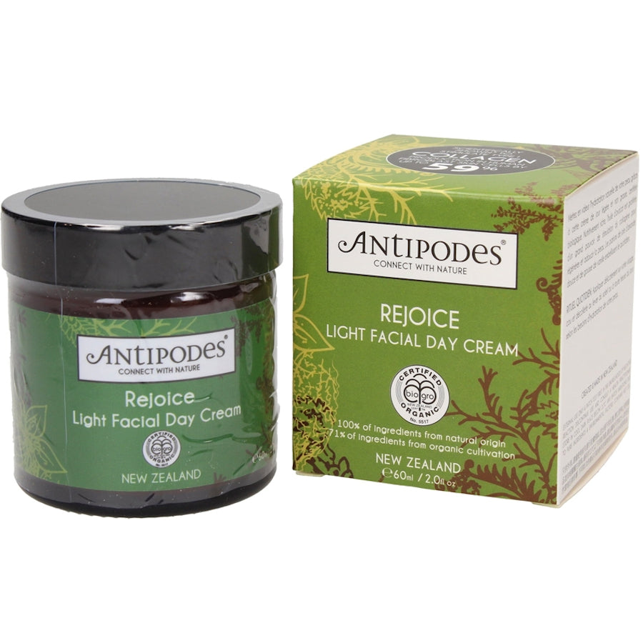 (BUY 2nd FREE) Antipodes-Rejoice Light Facial Day Cream 60ml