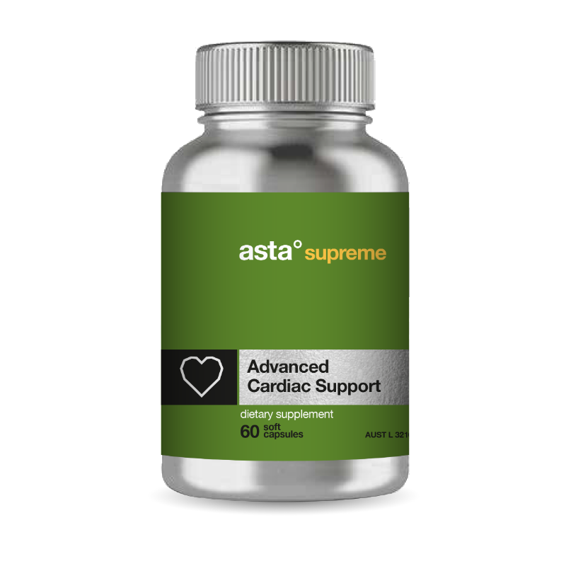 Astra Supreme Advanced Cardiac Support Astaxanthin 60 Capsules