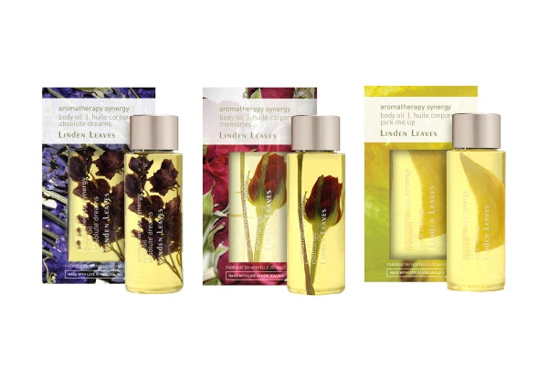 Linden Leaves Body Oil Mixed Set 60ml*3
