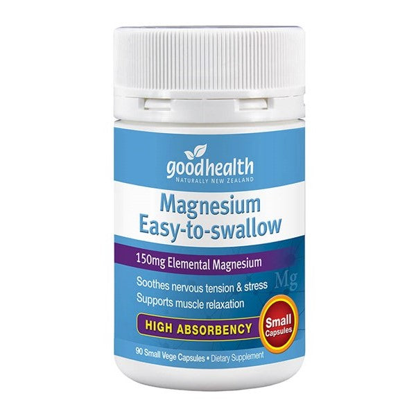 Good Health Magnesium Easy-To-Swallow 90 vegecaps Expiry Date 6/21