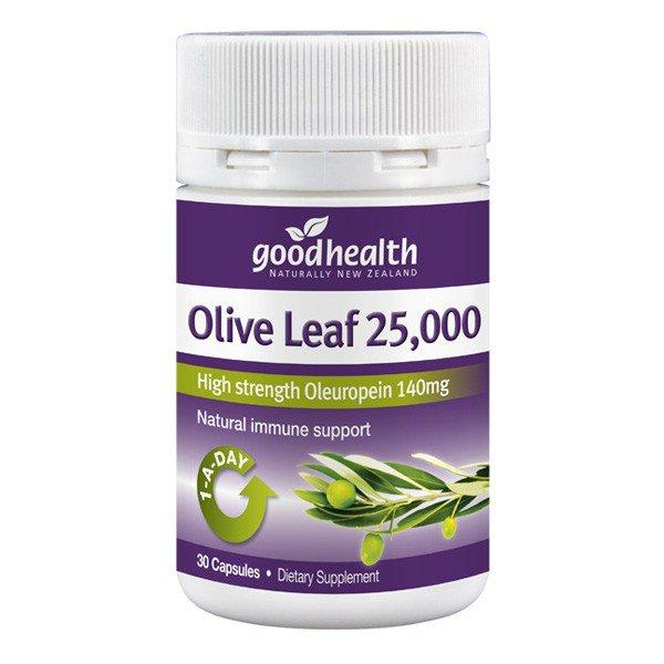 Good Health Olive Leaf 25000  30 Capsules