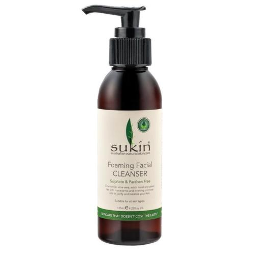 Sukin Foaming Facial Cleanser Pump - 125mL