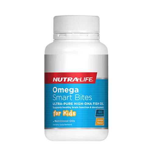 Nutra-Life Omega Smart Bites Chewable 60s