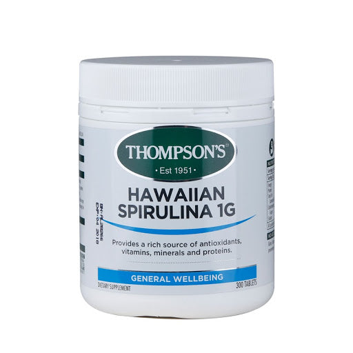 Thompson's Spirulina Hawaiian 1000MG 300s