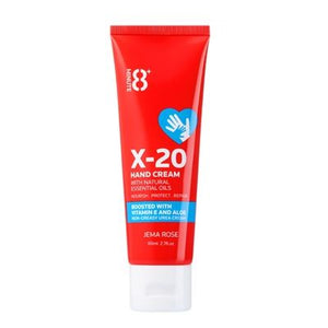Jema Rose-8+ Minute X20 Hand Cream 80ml