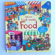Load image into Gallery viewer, Usborne 'Look Inside Food' Lift the Flap Book - Mess Chef