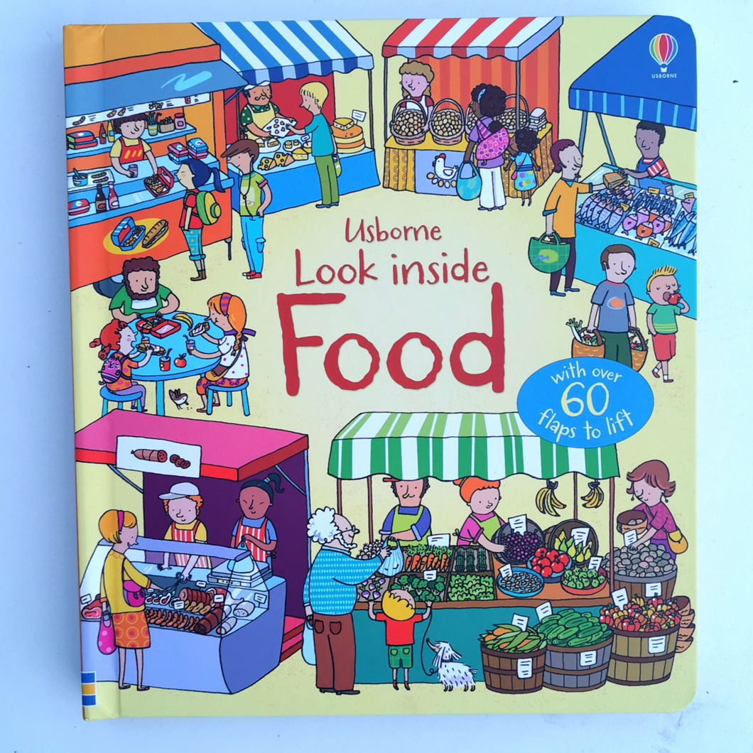 Usborne 'Look Inside Food' Lift the Flap Book - Mess Chef