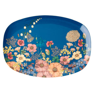 RICE  Flower Collage Platter / Serving Tray - Mess Chef