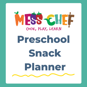 Preschool Snack Planner - Free! - Mess Chef