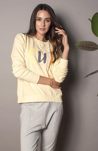 "The Others ""Oui"" Lemon Sweatshirt"