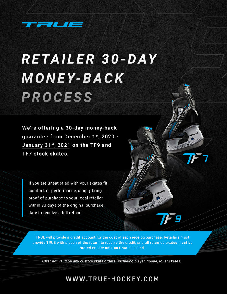 Retailer 30-Day Money-Back Process