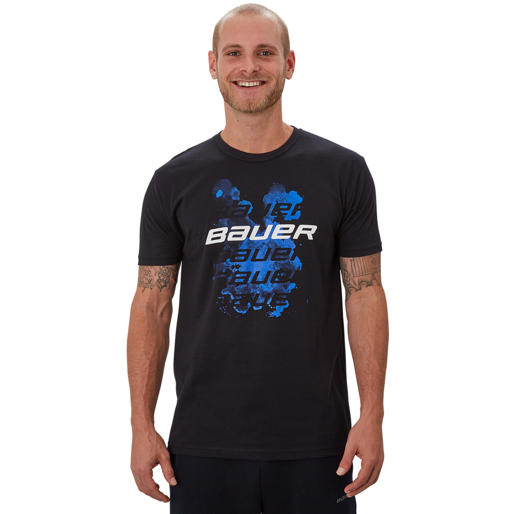 Bauer Smog Short Sleeve Crew Senior