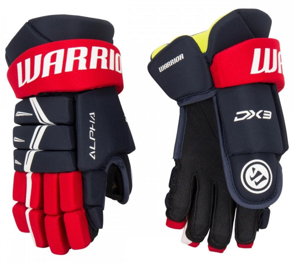 Warrior Alpha DX3 Youth Hockey Gloves