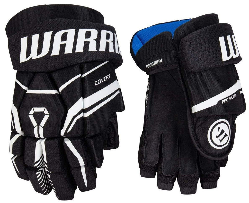 Warrior Covert QRE 40 Youth Hockey Gloves