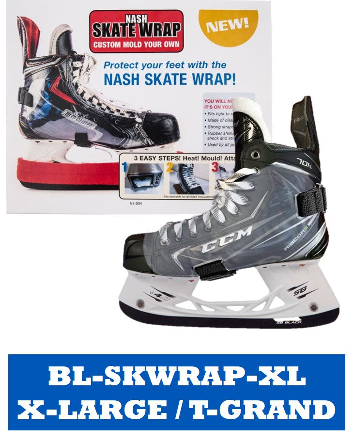 Blue Sports Custom Skate Wrap