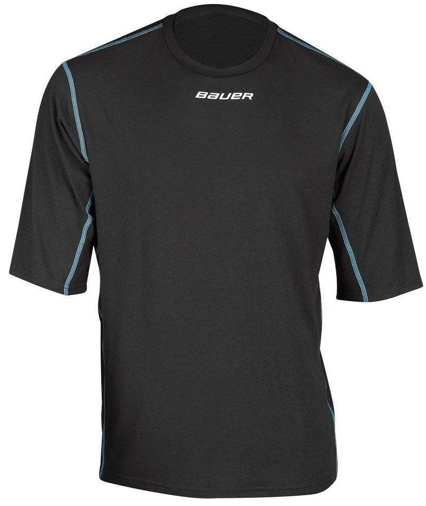 Bauer NG Core Short Sleeve Crew Base Layer Top for Boys
