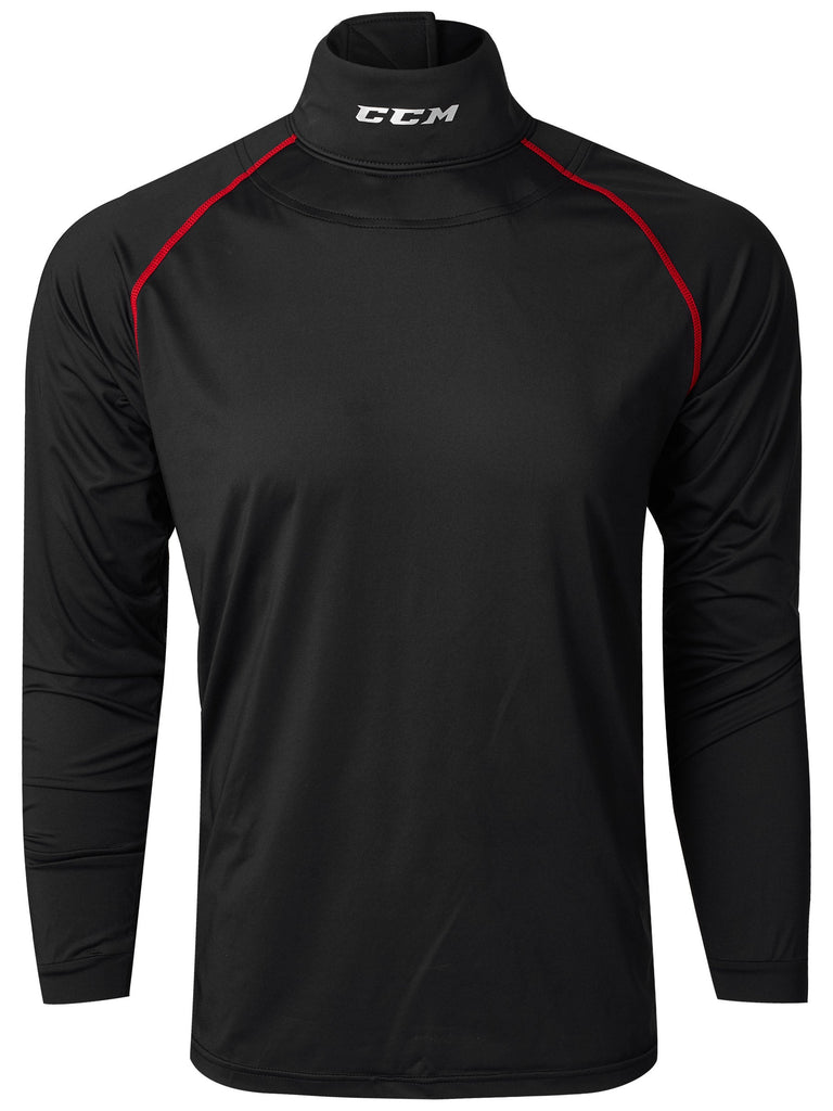 CCM Long Sleeve Top Cut Resistant Neck Guard for Boys