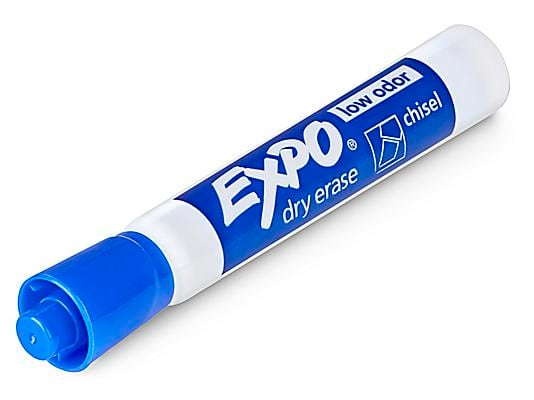 Blue Sports Dry Erase Marker EXPO