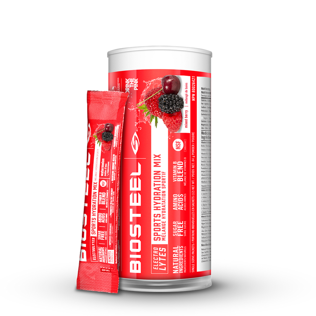 BioSteel High-Performance Sports Hydration Mix (12 count)