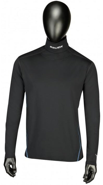 Bauer NG Core Integrated Neck Long-Sleeve Boys Top