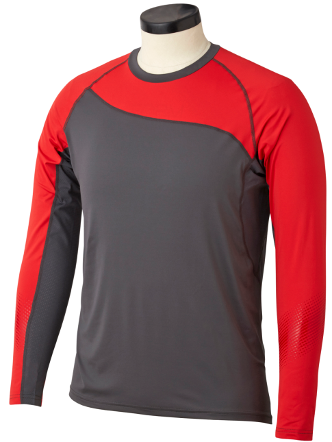 Bauer S19 Pro Long-Sleeve Baselayer Mens Top (Red)