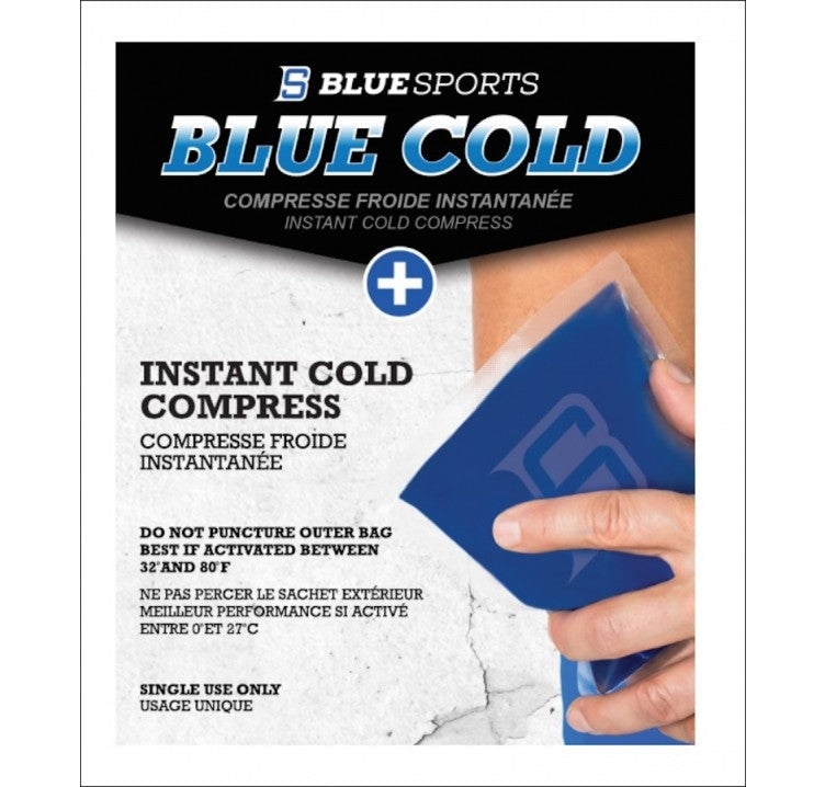 Blue Sports Cold Ice Compress